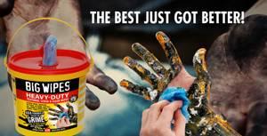Bilde av Big Wipes Håndrens servietter